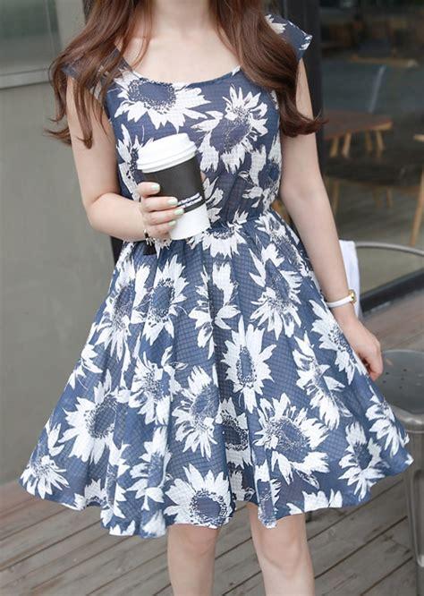 miamasvin sunflower dress kstylick latest korean