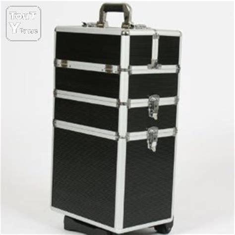 trolley valise de transport rangement coffre cosm 233 tique