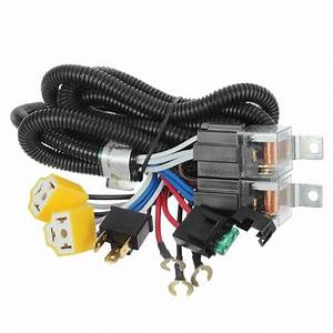 For Headlight H4  9003 Ceramic Controller Harness Relay