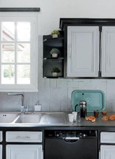 peinture meuble cuisine stratifié peinture pour meubles de cuisine photo après