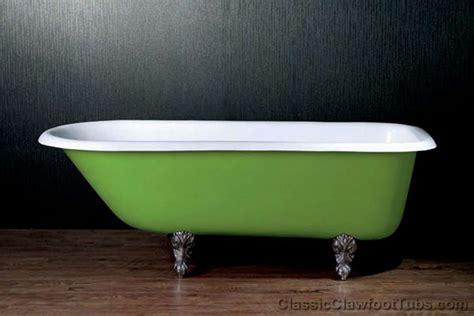 rolled rim cast iron clawfoot tub classic clawfoot tub