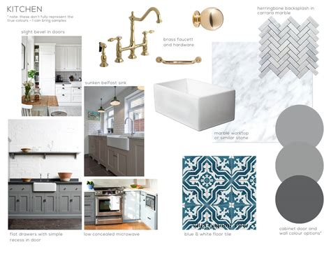 kitchen design boards modern deco kitchen intro emily henderson 1109