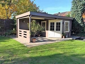 Gartenhaus 40 Qm : schritt f r schritt das gartenhaus hanna 40 wird aufgebaut ~ Frokenaadalensverden.com Haus und Dekorationen