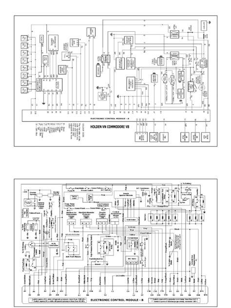 holden commodore vn wiring diagram efcaviation