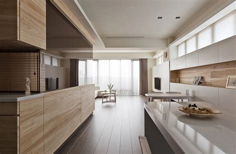 organic kitchen design organic and minimalist interior inspirations from the far east 1226