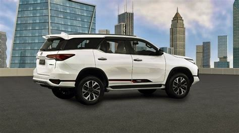 2019 Toyota Fortuner side view - 2021 and 2022 New SUV Models