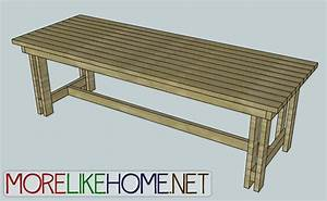 Dining Room Table Plans Woodworking 4 Home - WoodWorking