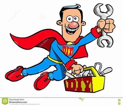 Handyman Cartoon Superman Maintenance Diy Costume Super