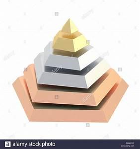 Divided Into Segments Pyramid Stock Photo  84766839