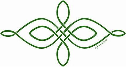 Celtic Knot Simple Horizontal Tattoo Tattoos Symbols