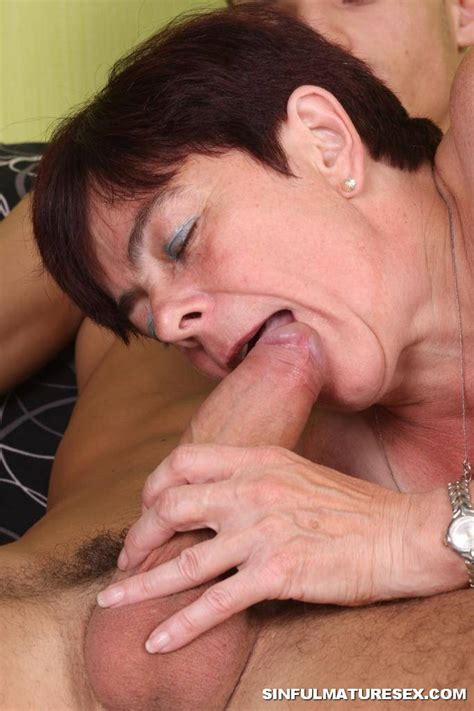 Young Busty Teen Tries Cock