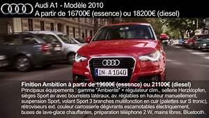 Audi A1 Motorisation : audi a1 fiche prix finitions dimensions motorisations youtube ~ Medecine-chirurgie-esthetiques.com Avis de Voitures