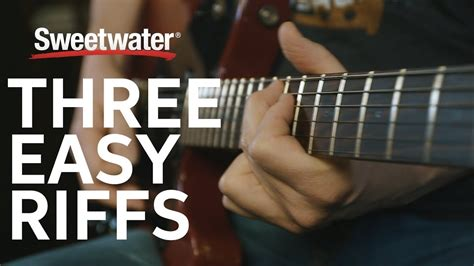 Learn 3 Easy Guitar Riffs with Don Carr