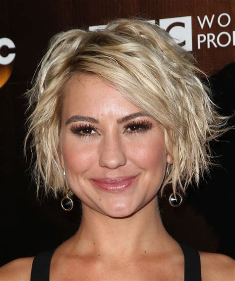 Shaved my head again, feels good to have my chelsea back. Chelsea Kane Medium Wavy Casual Hairstyle - Light Blonde ...