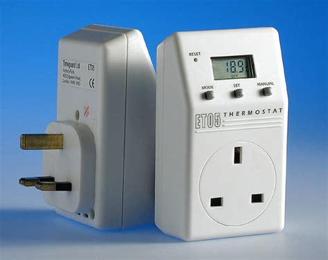 electronic plug  thermostat