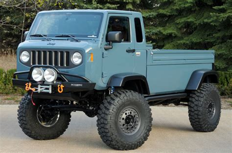 jeep wrangler pickup concept jeep pickup concepts pre safari off road off road wheels