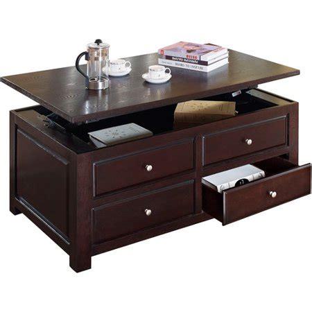 Malden Lift Top Coffee Table, Espresso Walmartcom