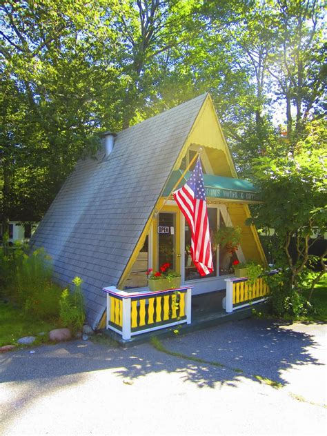 small a frame homes relaxshacks com a tiny yellow a frame cabin cottage in maine