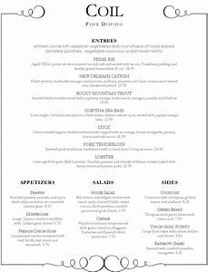 menu fine dining fine dining menu page 1 alfa img showing With fine dining menu template free