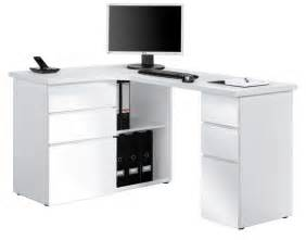 Bureau D Angle Blanc Laque Design bureau d angle design blanc laqu 233 albert