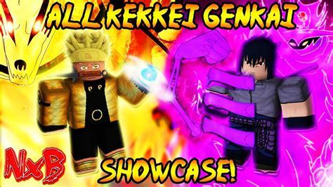 naruto codes beyond rpg nrpg genkai kekkei roblox beta kg rarest rare showcase lava overpowered elements shinobi any scrolls after