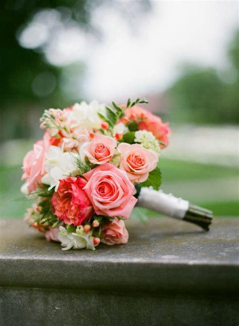 wedding inspiration romantic coral pretty happy love