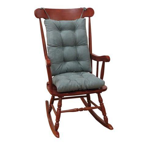 Klear Vu Gripper Twillo Marine Jumbo Rocking Chair Cushion