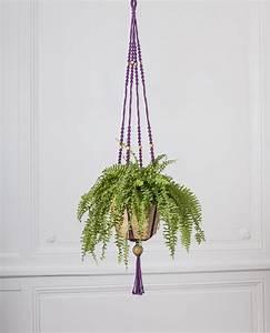 Suspension Pour Plante Interieur : suspension pour plante en macram bymadjo tynka d co ~ Teatrodelosmanantiales.com Idées de Décoration