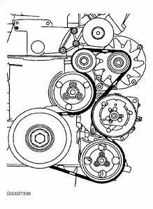 2001 Volkswagen Jetta V6 2 8l Serpentine Belt Diagram