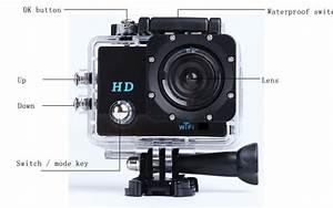 Hot New Cheap Sport Cam Wifi Hd 720p Action Camera Manual Mini Camera Hd 720p With Wifi