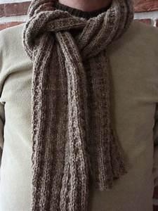 Echarpe Homme Tricot : modele a tricoter echarpe homme ~ Melissatoandfro.com Idées de Décoration