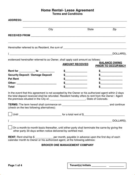 rental template 5 house rental agreement template teknoswitch