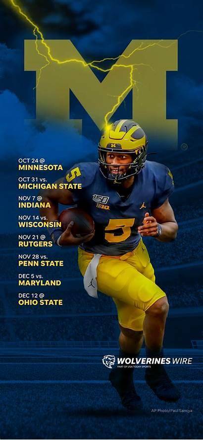 Michigan Schedule Football Wolverines Downloadable Lock Screen