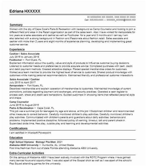 Employment Objective Or Cover Letter by Employment Objective Or Cover Letter For Footlocker