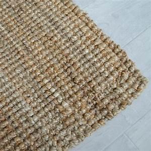 tapis naturel boheme 100 jute naturel decowebcom With tapis en chanvre naturel