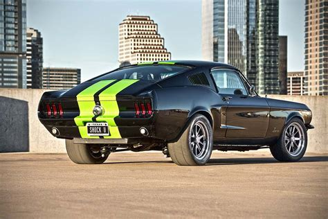 Mustang Electric Car by The All Electric 68 Ford Mustang 222 67mustangblog