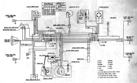 honda s90 haynes electrical wiring diagram circuit