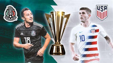 El encuentro se jugará en la cancha soldier field a partir de la hora 22 horas y tendrá el arbitraje del. Lista la final de la Copa Oro: México vs Estados Unidos, el Clásico de Concacaf - Golpe Político