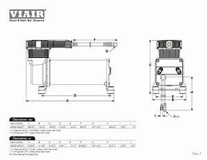 Viair Dual Stealth Black 485c Onboard Air System