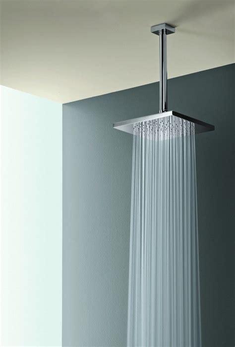square rain shower head  ceiling mount house ideas