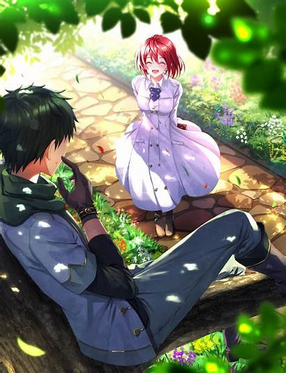 Akagami Shirayukihime Shirayuki Obi Fanart Pixiv Anime
