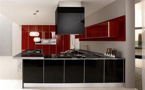 black and white kitchen designs photos dise 241 os de cocinas integrales modernas diseno casa 9275