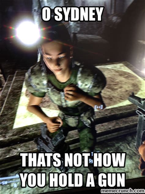 Fallout 3 Memes - fallout 3 sydney does it wrong