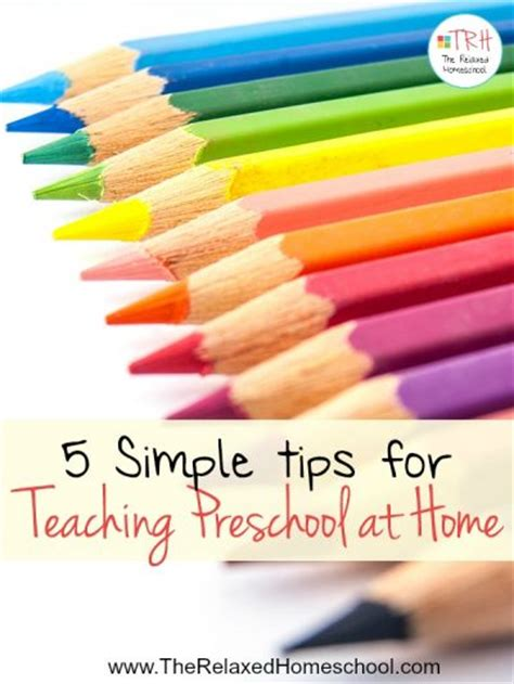 teaching preschool at home can be simple and find out 572 | 5 Simple tips for teaching preschool at home 1 400x533