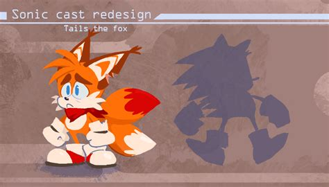 Sonic Redesign- Tails By Nerfuffle On Deviantart