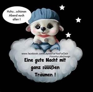 Gute Nacht Sprüche Lustig : 144 best gute nacht images on pinterest ~ Frokenaadalensverden.com Haus und Dekorationen