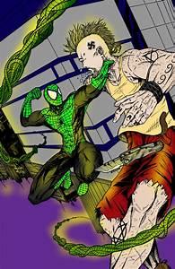 Green Lantern Spiderman by Dante-Picasso on DeviantArt