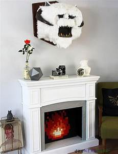 Star Wars Diy : geek decor diy star wars wampa head full tutorial plus our diy 8 bit fireplace giant d20 ~ Orissabook.com Haus und Dekorationen