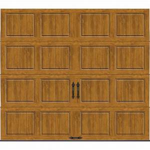 clopay gallery collection 9 ft x 7 ft 184 r value With 7 x 9 foot garage door