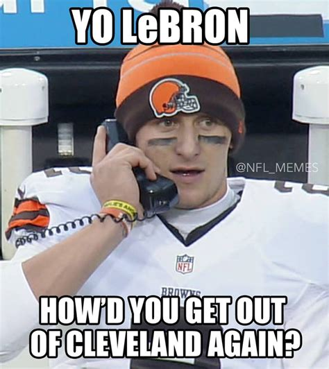 Johnny Manziel Memes - i could watch cincinnati bengals emasculate johnny manziel s cleveland browns all day turtleboy